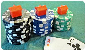 Photo d'un jeu de poker