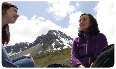Photo de Marie Bochet interviewée par Myriam Menneteau