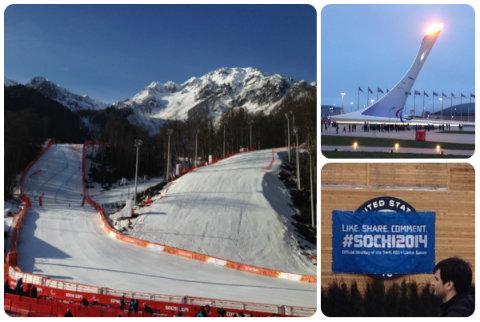 Photos prises lors des Jeux Paralympiques de Sochi