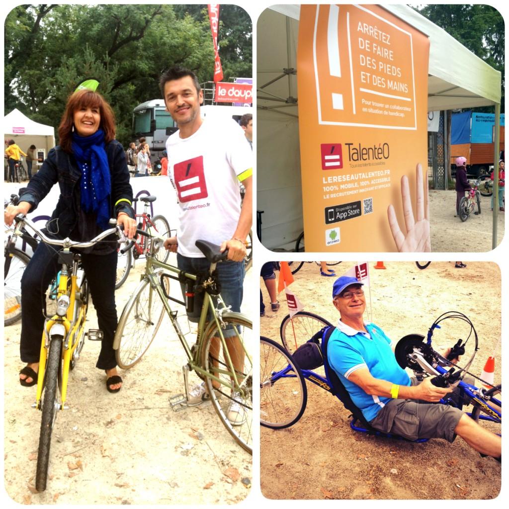 Velotour 2014: Le stade des Alpes en Hand'bike