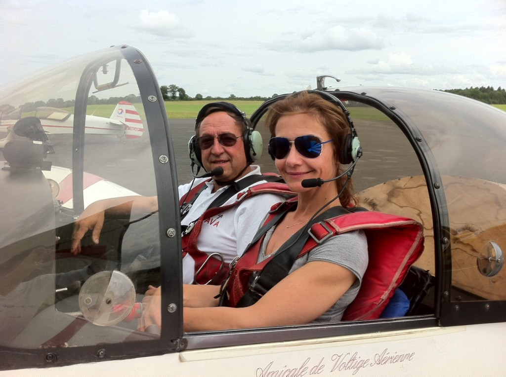Dorine, l'aérienne: « Je souhaite ouvrir une voie pour les futures générations de pilotes handicapées »