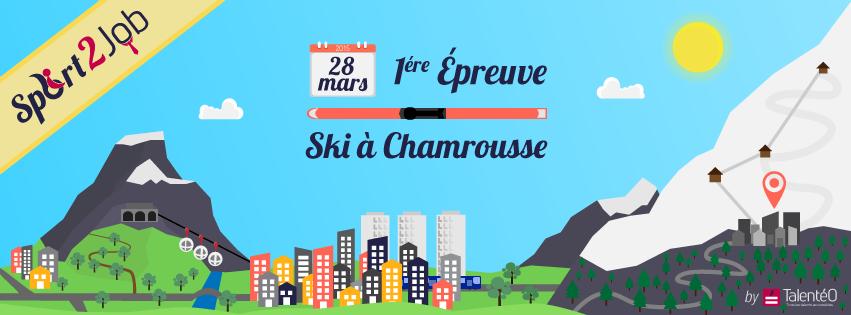 #Sport2Job : Et si vous skiiez avec vos futurs collègues ?