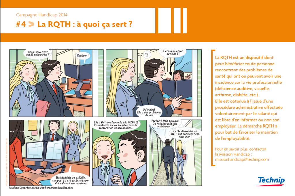 Faire sa demande de RQTH: 6 questions à la Mission Handicap de Technip