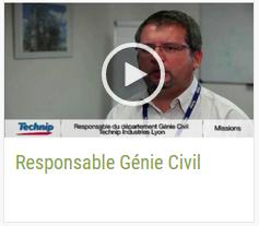 Responsable Génie Civil