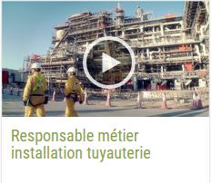 Responsable Métier Installation Tuyauterie