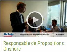 Nouvelle page: lien vers la vidéo métier: Responsable de Propositions Onshore