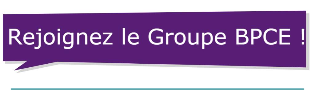 Rejoignez le Groupe BPCE