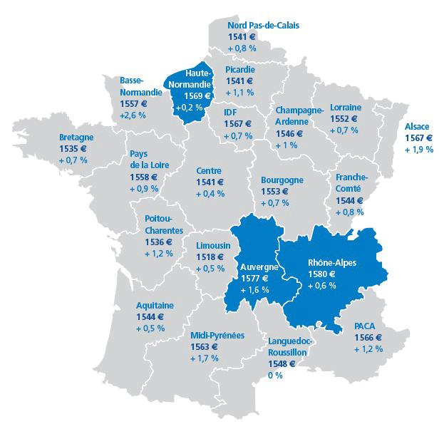 Carte-de-France-Salaires-par-region
