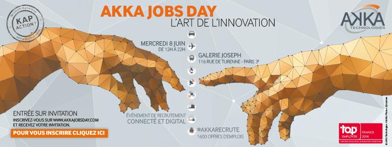 AKKA : l'entreprise qui recrute !