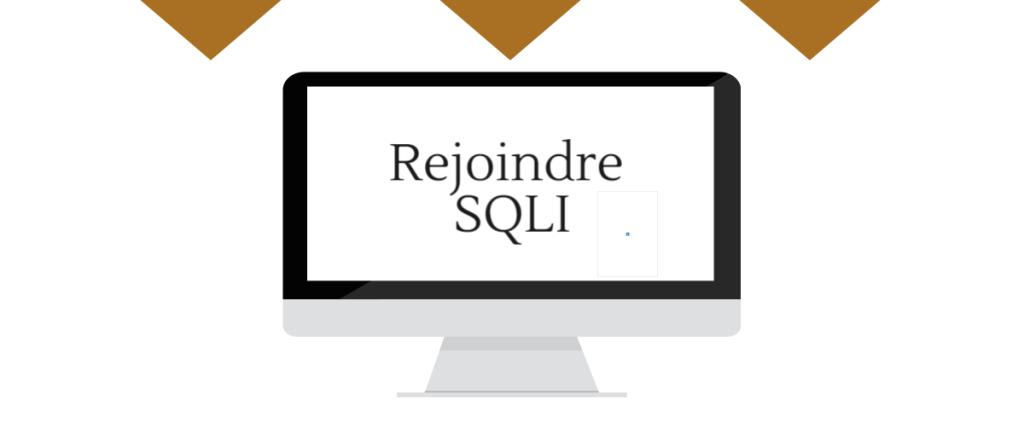 Cliquez ici pour rejoindre SQLI