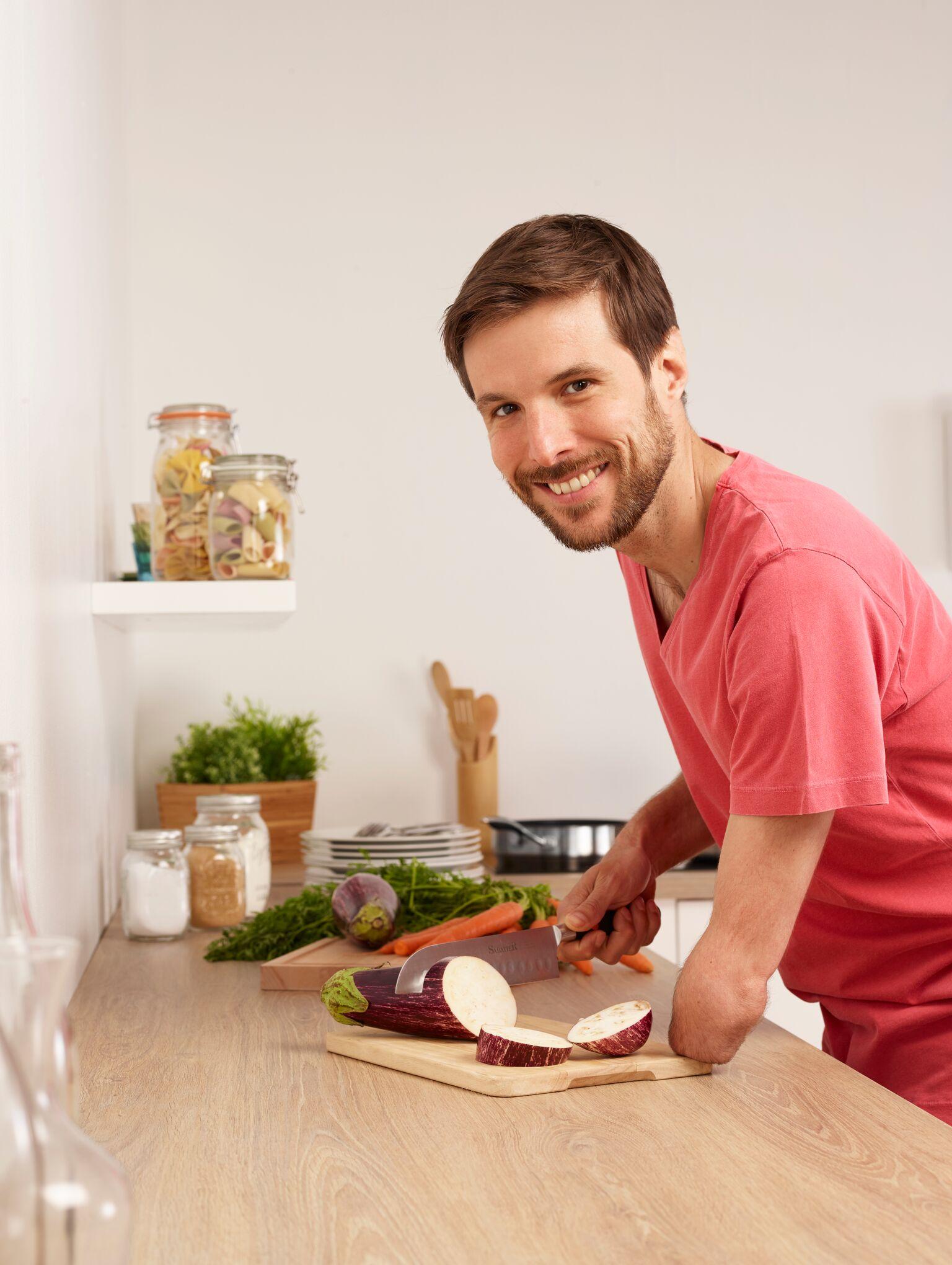 Cuisine & handicap: le bon mélange de Grégory Cuilleron!