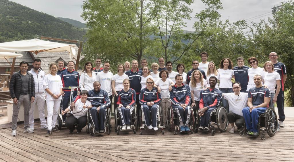 Paralympiques 2016: rencontre avec l'équipe de France d'escrime!