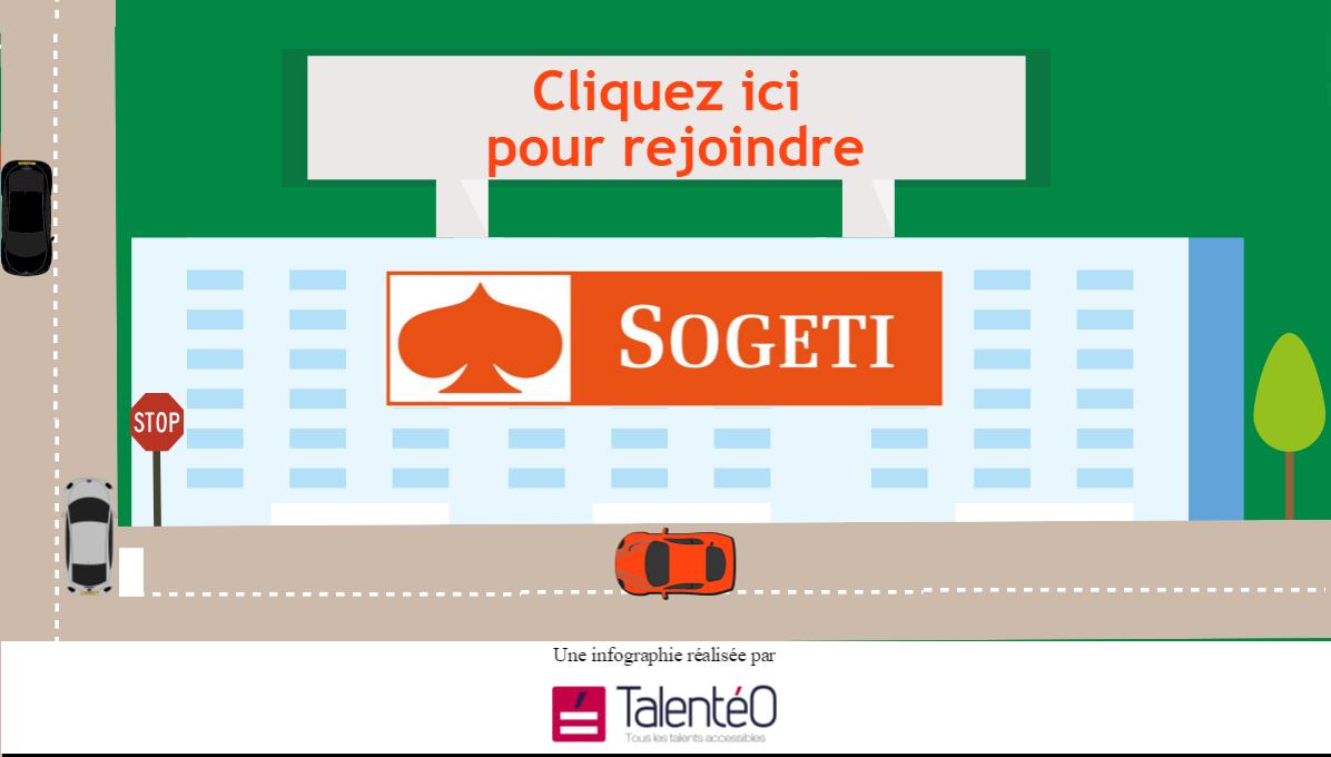 Cliquez-ici pour rejoindre Sogeti. Une infographie réalisée par Talentéo.