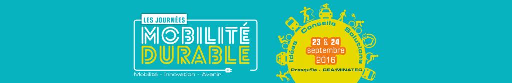 Rendez-vous aux Journées de la Mobilité Durable!