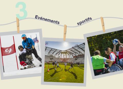 3 événements sportifs
