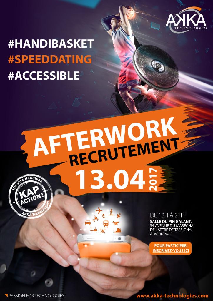 Handicap: intégrez AKKA à l'occasion d'un afterwork innovant!