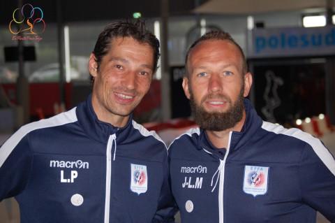 Jean-Louis Michaud et Laurent Prey parmi les pionniers du Foot pour Amputés