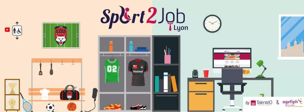 Handicap: cuisiner ou faire du sport pour trouver un emploi à Lyon!