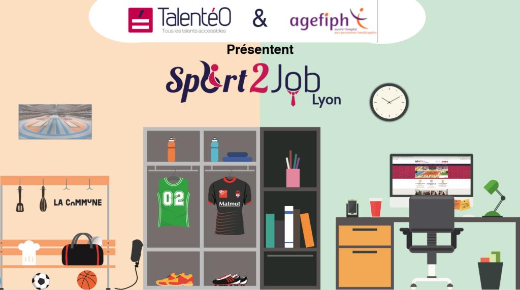 Talentéo & Agefiph présentent Sport2Job Lyon