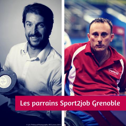Parrains Sport2Job Grenoble