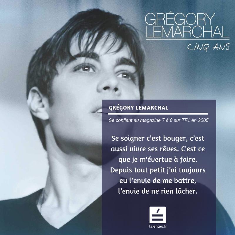 Grégory Lemarchal - Musique