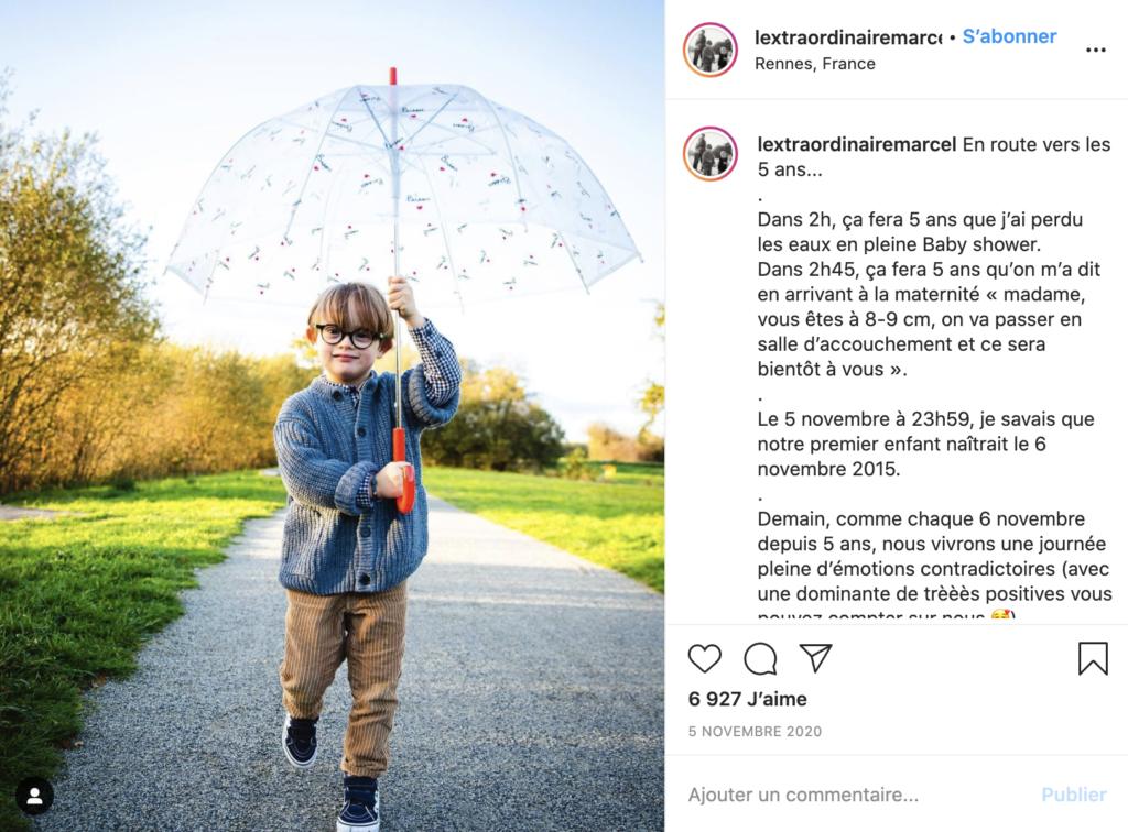 Instagram : L'extraordinaire Marcel