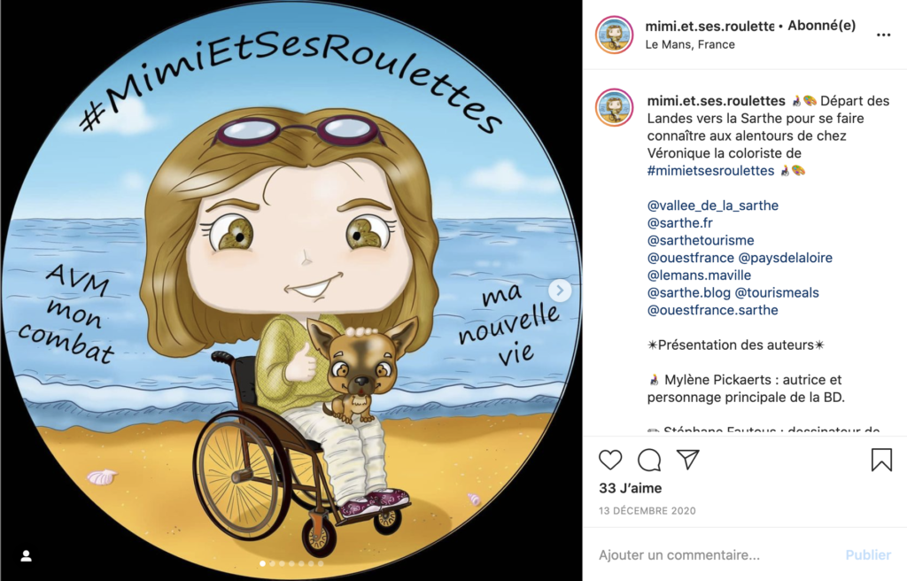 Instagram Mimi et ses roulettes