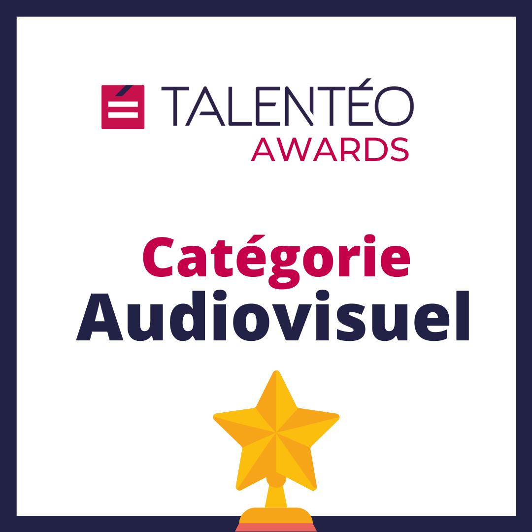 Talentéo Awards Prix Audiovisuel