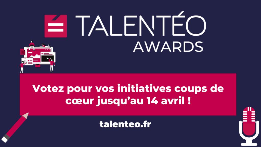 Visuel vote du public Talentéo Awards