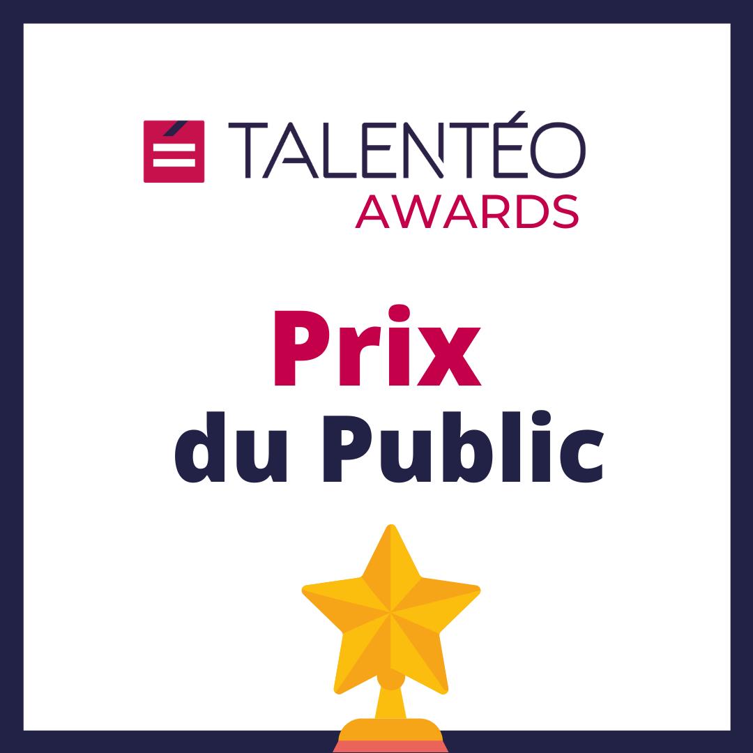 Talentéo Awards - Prix du Public