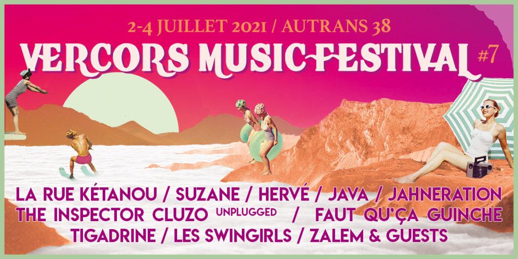 affiche vercors music festival 2021
