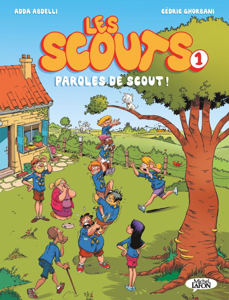 Dans les vestiaires du scoutisme : découvrez la première BD d'Adda Abdelli !